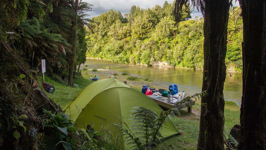 z maharanui-campsite-DOC Photo